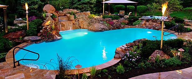 Native and Exotic materials in Pool Design